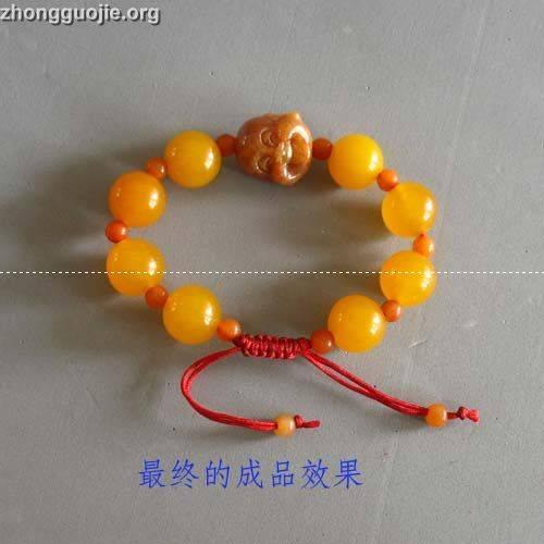 绳结手链的编法----这可是拓普呀 - 图解科学 - 论坛